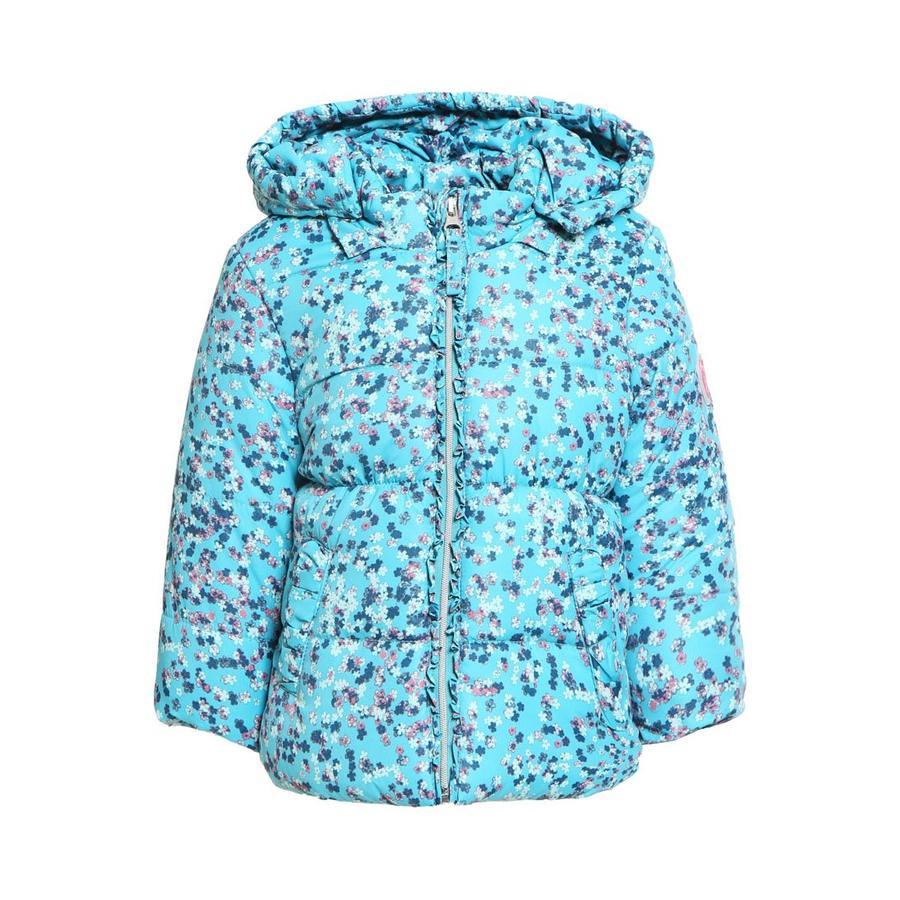 ESPRIT Winterjacke blau gemustert
