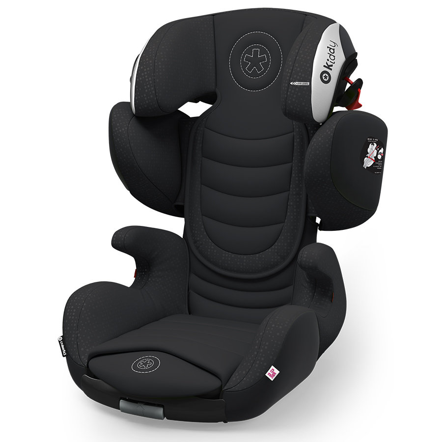 Kiddy Child car seat Cruiserfix 3 Onyx Black