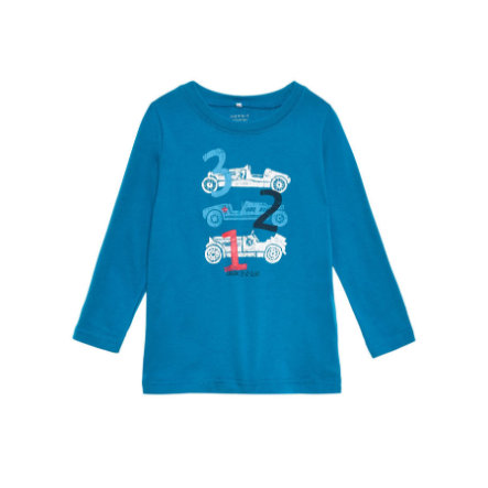 name it Boys Longsleeve Victor mykonos blue