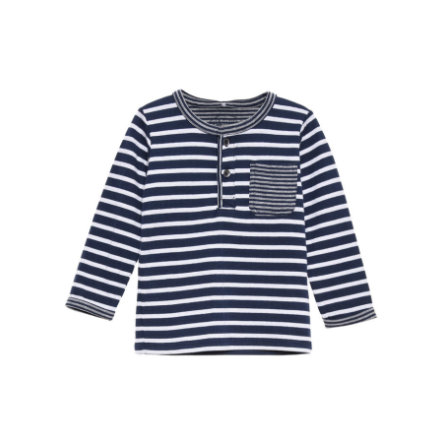 name it Boys Longsleeve Srib dress blues