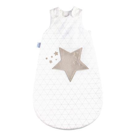 JULIUS ZÖLLNER Schlafsack mit Applikation Sternenbild taupe