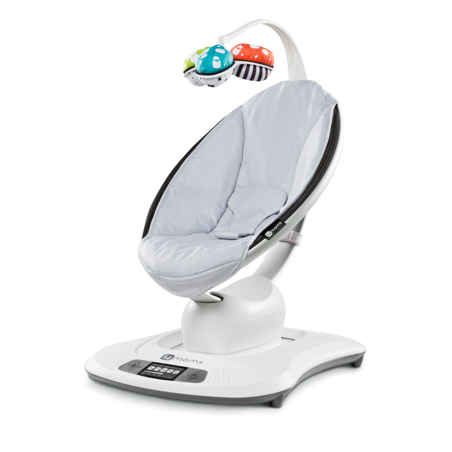 4moms 3D-Babywippe mamaRoo Classic Grey