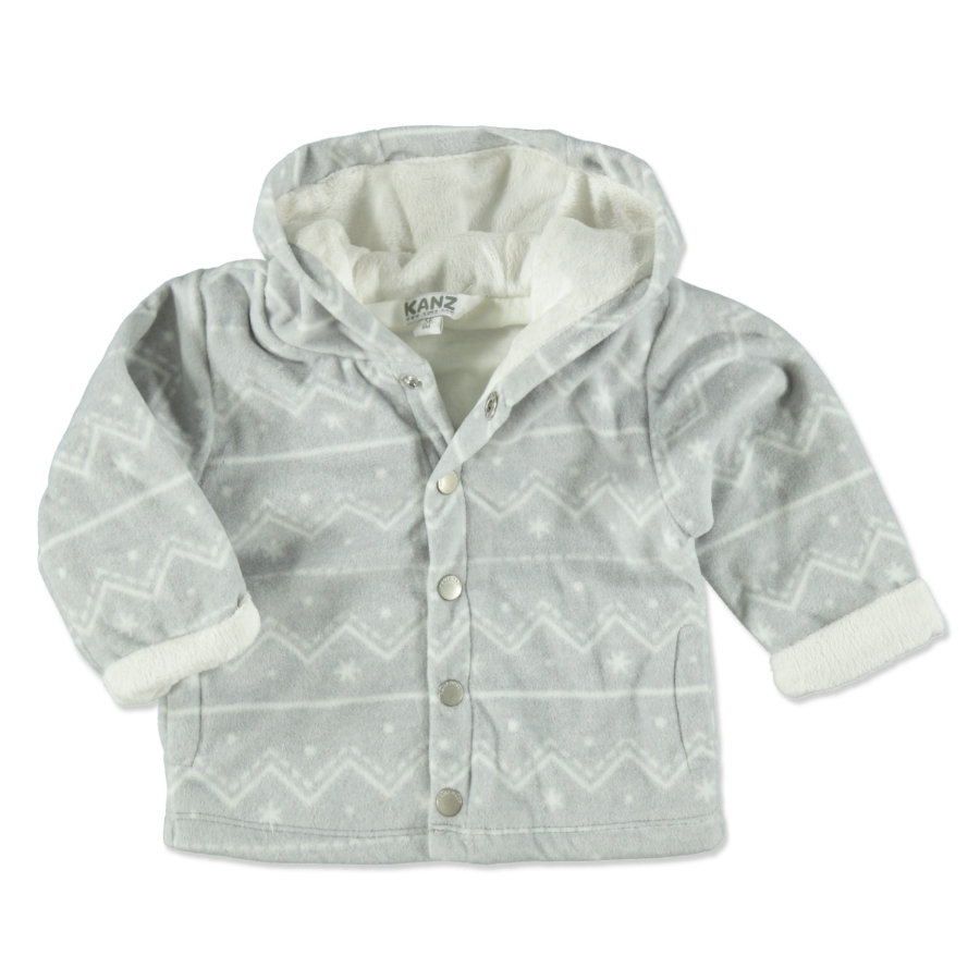 KANZ Fleecejacke grey