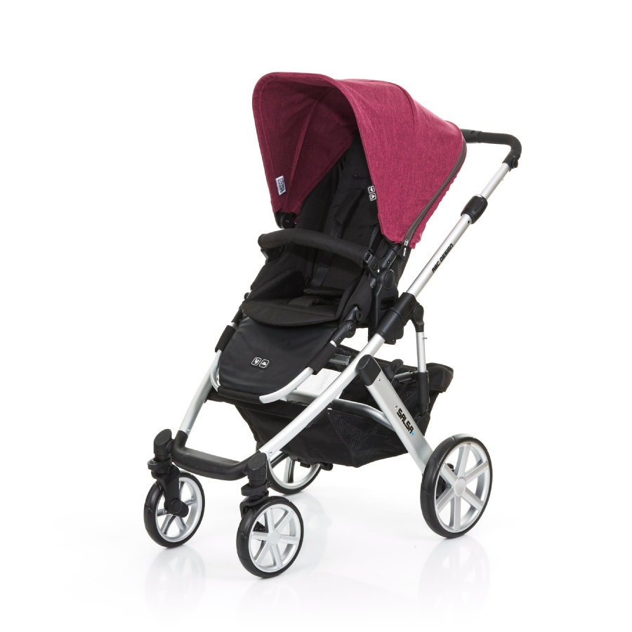 ABC DESIGN Kinderwagen Salsa 4 currant