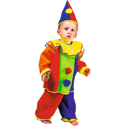 FUNNY FASHION Costume da Carnevale Clown Timothy