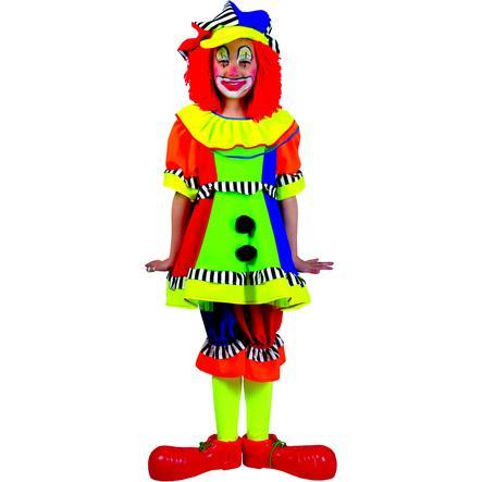 FUNNY FASHION karnevaalipuku Klovni Olivia