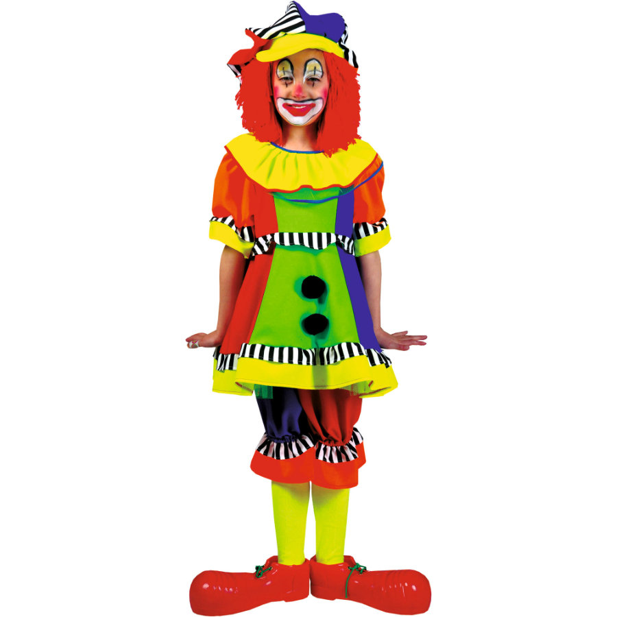 Funny Fashion Traje de Carnaval Payaso Olivia