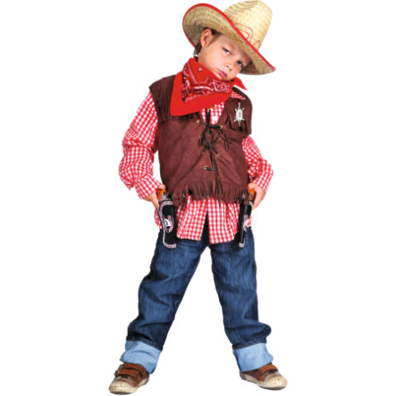 Funny Fashion Costume di Carnevale Wild West Denise Gilet