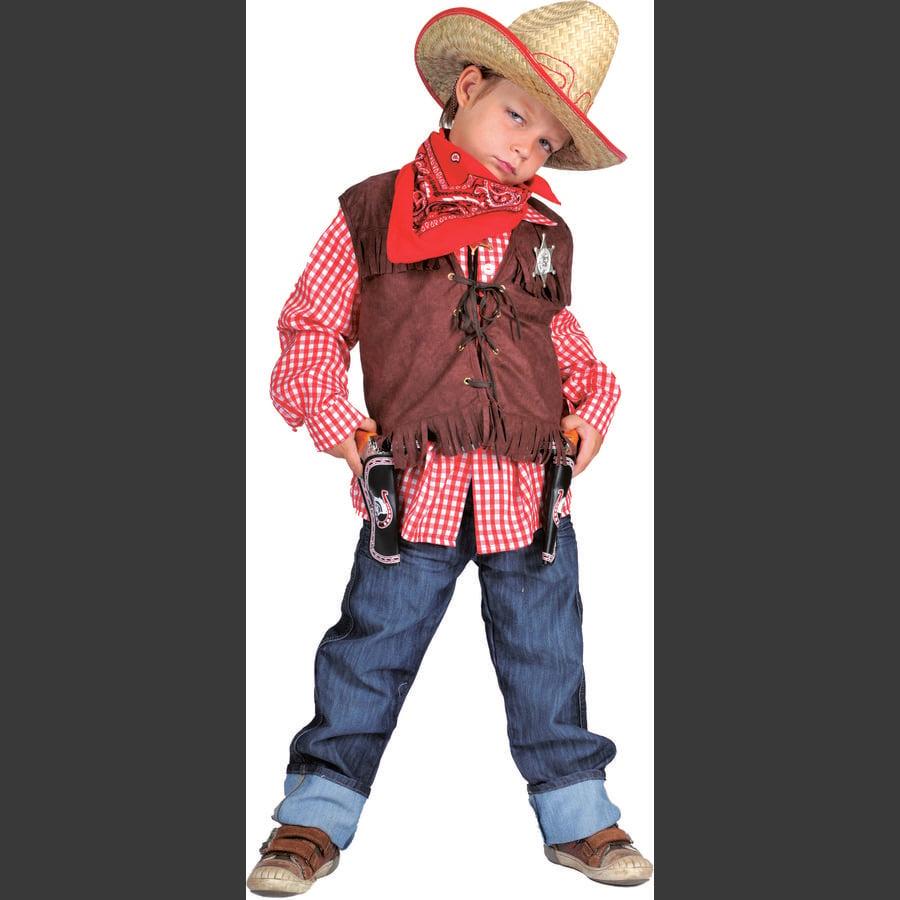 Funny Fashion Veste de Carnaval Wild West Denise