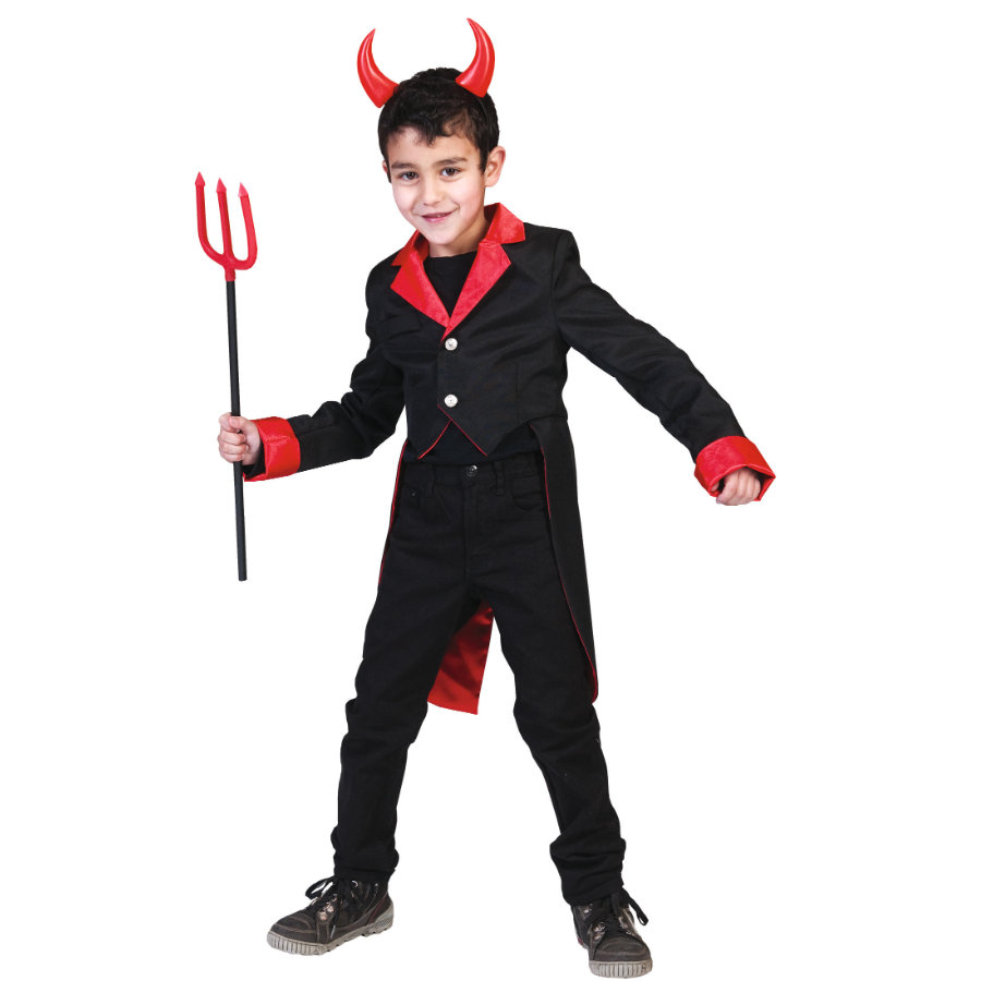Funny Fashion Costume Carnaval Diable Frack
