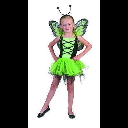 FUNNY FASHION Costume da Carnevale Farfalla verde