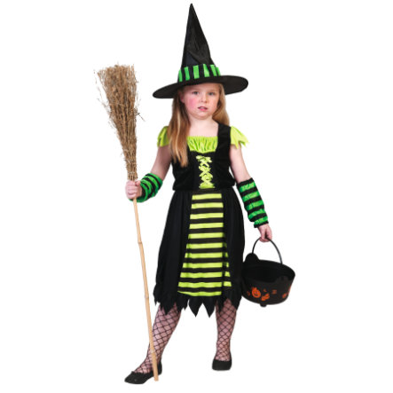 Funny Fashion Karneval Kostüm Green Witch