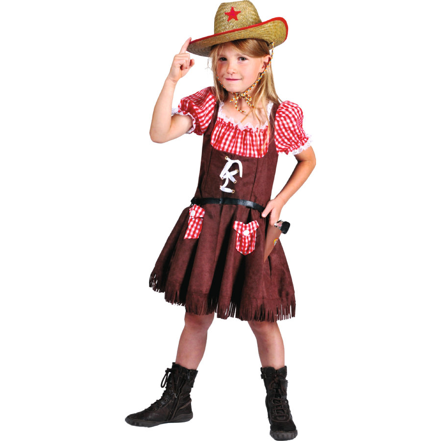 """Funny Fashion Kostium karnawałowy """"Dziki Zachód Denise""""."""