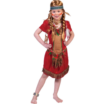 Funny Fashion Costume Carnaval Red Hawk, fille