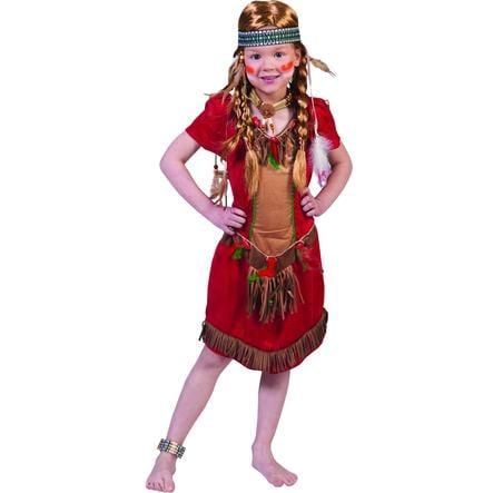 Funny Fashion karnevaldräkt Red Hawk Girl