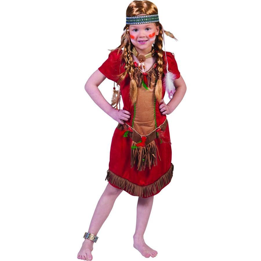 Funny Fashion Carnaval Kostuum Rood Havik Meisje