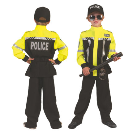 Funny Fashion Costume Carnaval Policier Paul