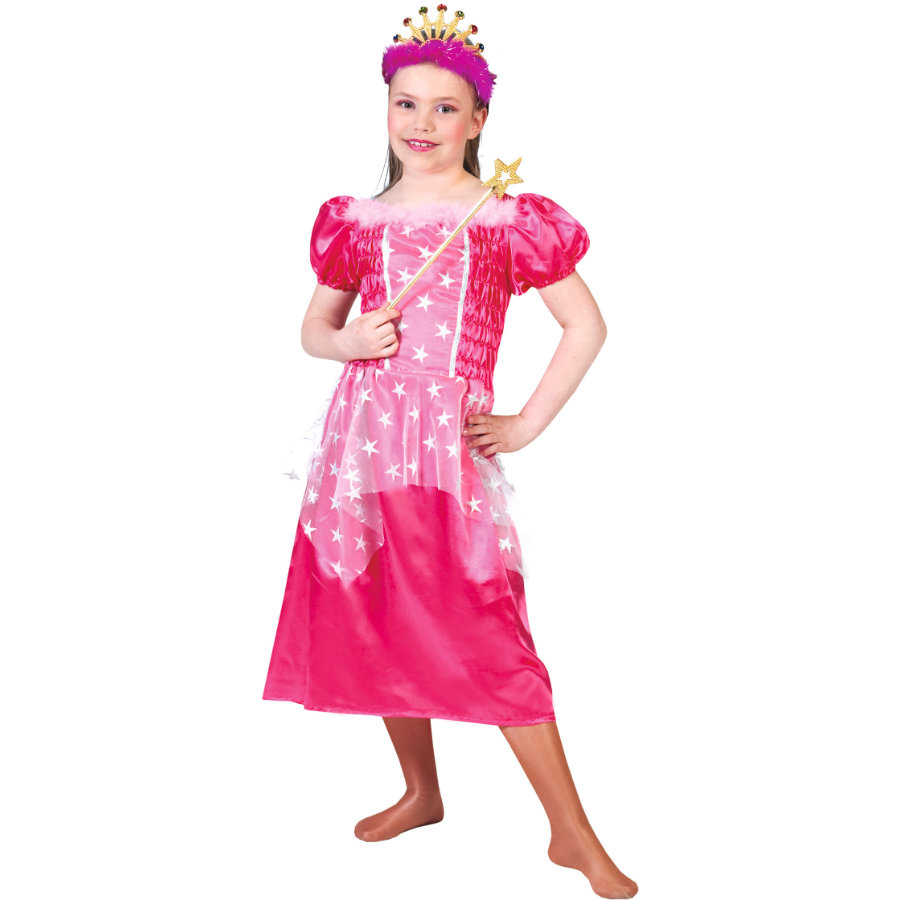 Funny Fashion Carnaval Kostuum Prinses Roze Kostuum