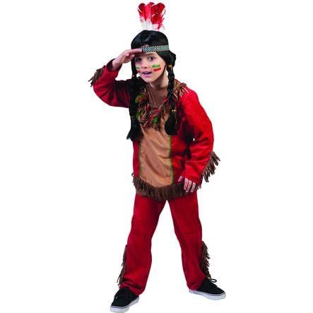 Funny Fashion Costume di Carnevale pellerossa bimbo