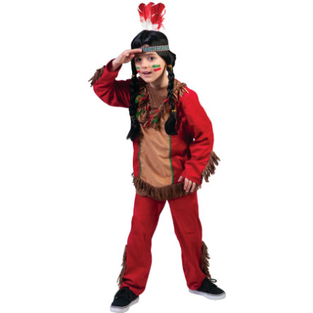 Funny Fashion Karneval Kostüm Red Hawk Junge