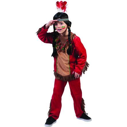 Funny Fashion Traje de Carnaval Niño Halcón Rojo