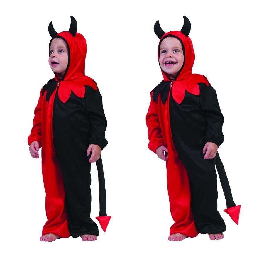 FUNNY FASHION Costume da Carnevale Baby Diavolo