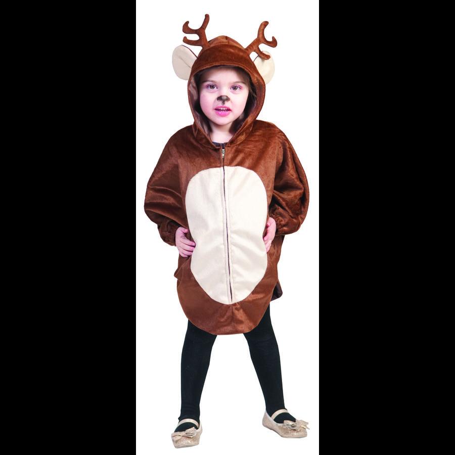Funny Fashion karnevalkostyme Cape Reindeer