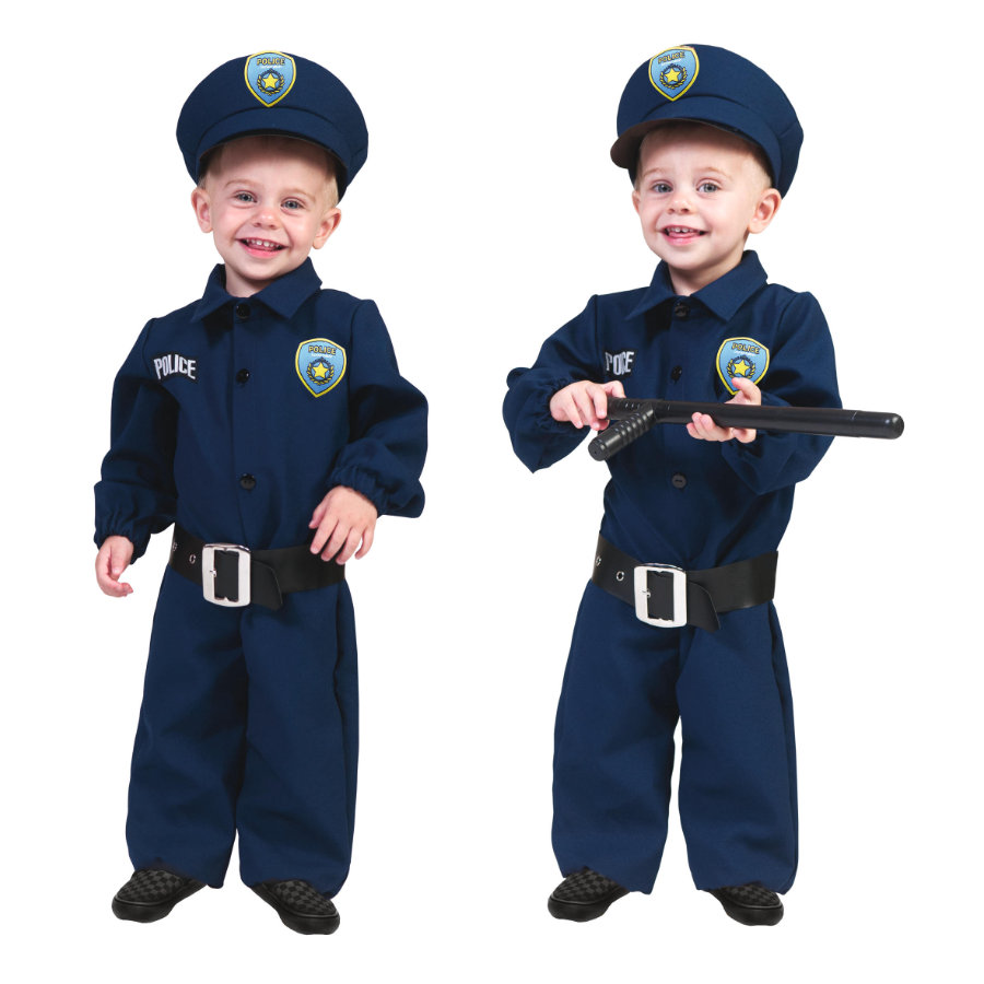 funny fashion karneval kost m polizei baby. Black Bedroom Furniture Sets. Home Design Ideas