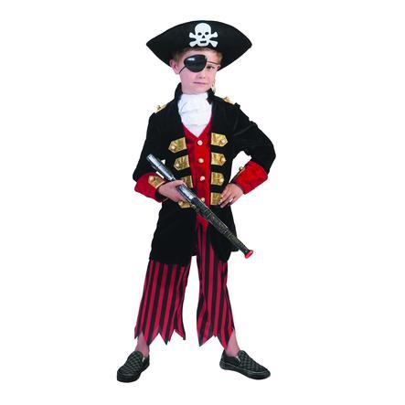 Funny Fashion Disfraz de carnaval de pirata