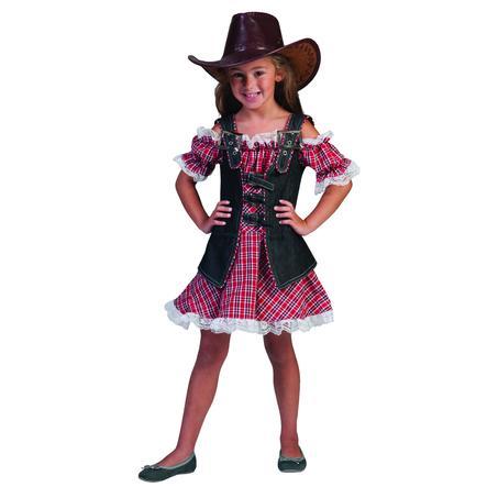 Funny Fashion Disfraz de pequeña vaquera