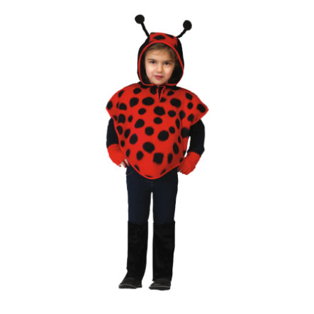Funny Fashion Costume Carnaval Cape Coccinelle