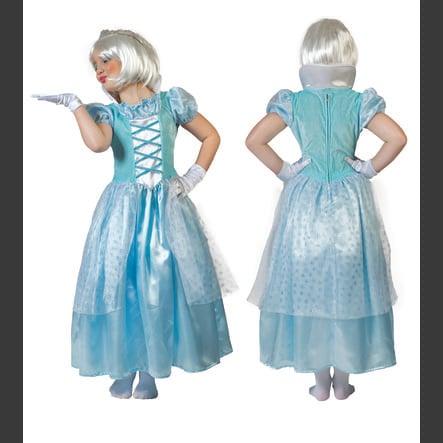 FUNNY FASHION Costume da Carnevale Principessa del ghiaccio Clara