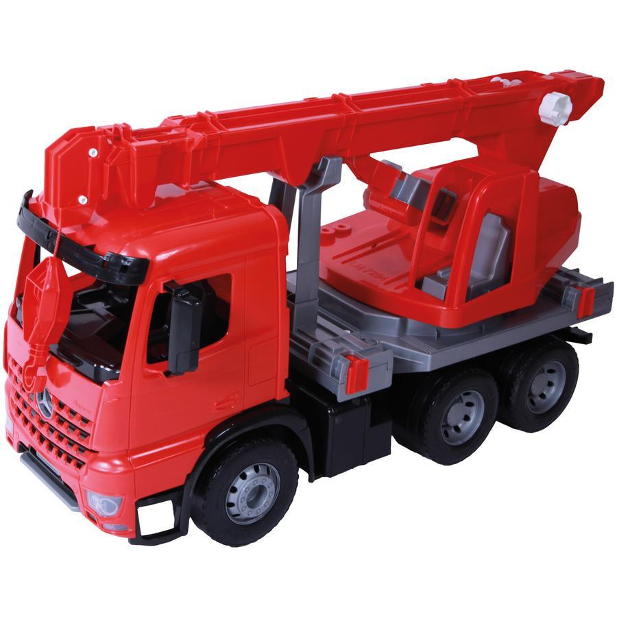 LENA® Camión grúa de bomberos grande y robusto 02175