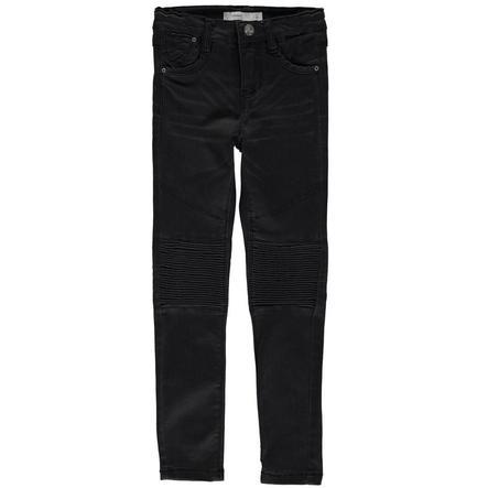 NAME IT Girls Spodnie Jeans Blika black denim