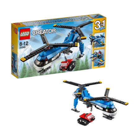 LEGO® Creator - L'hélicoptère à double rotor 31049