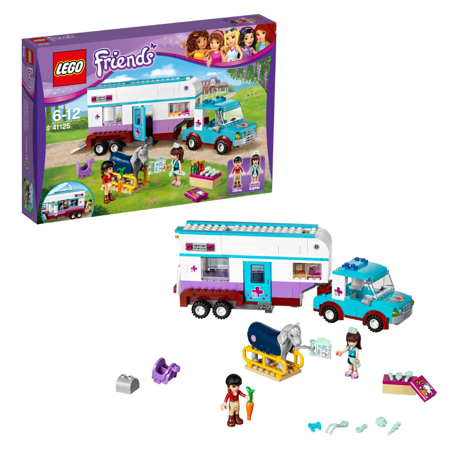 LEGO® Friends - Paardendokter trailer 41125