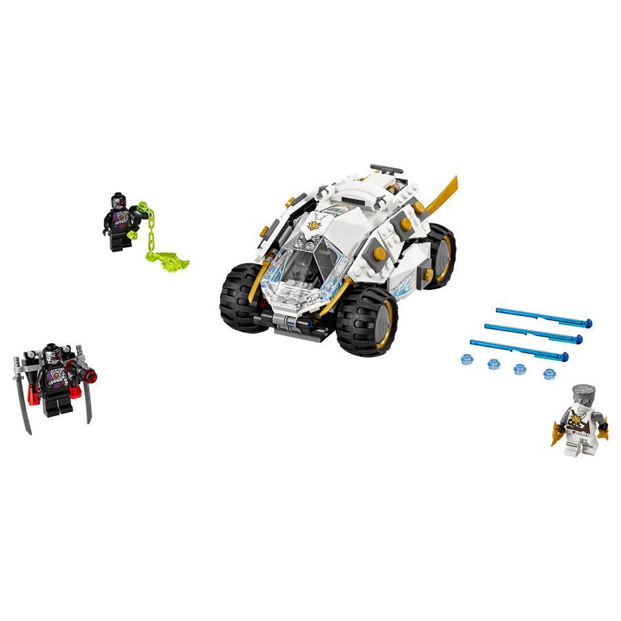LEGO® NINJAGO - Samochód tytanowego ninja 70588