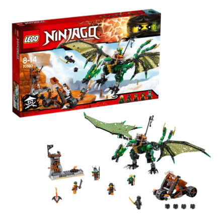 LEGO® NINJAGO The Green NRG Dragon 70593