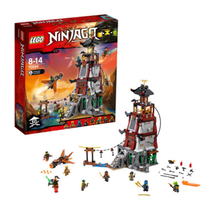 LEGO® NINJAGO - Die Leuchtturmbelagerung 70594