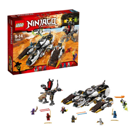 LEGO® NINJAGO - Niewykrywalny pojazd ninja 70595