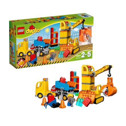 LEGO® DUPLO® - Iso rakennustyömaa 10813
