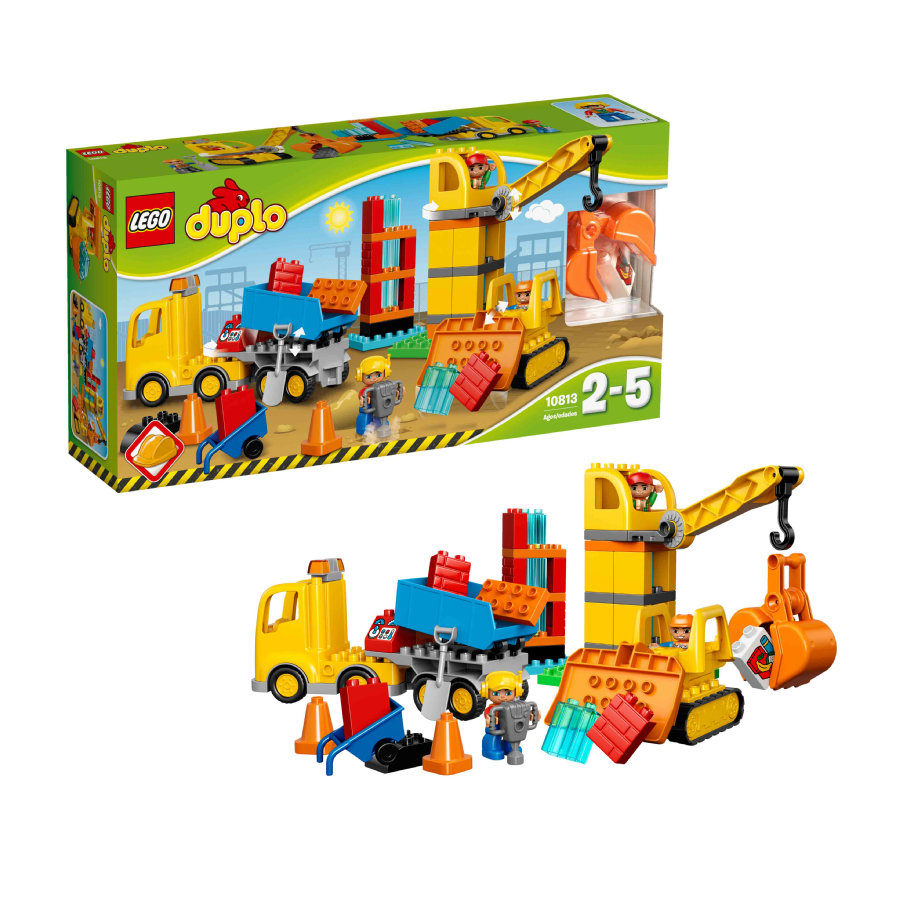 LEGO® DUPLO® Stor Byggarbetsplats 10813