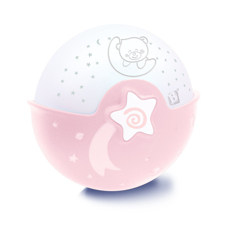 Infantino B kids® Luce con proiettore, rosa