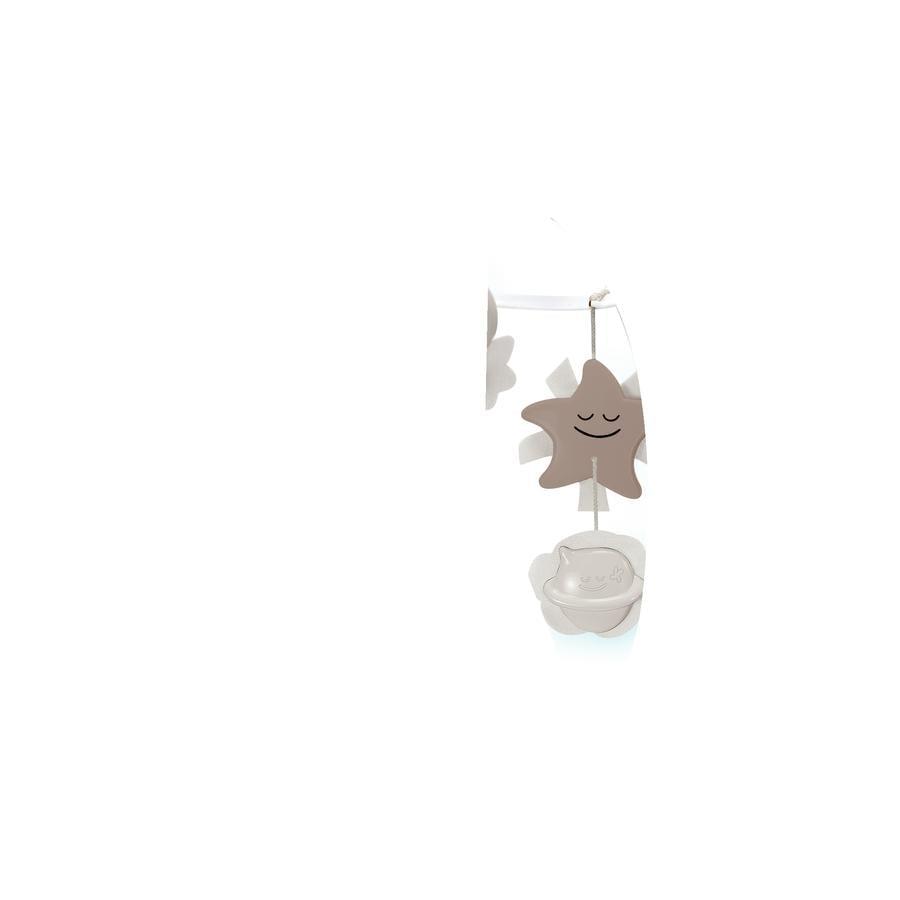 Infantino 3 i 1 musikkuro med drømmelampe, grå
