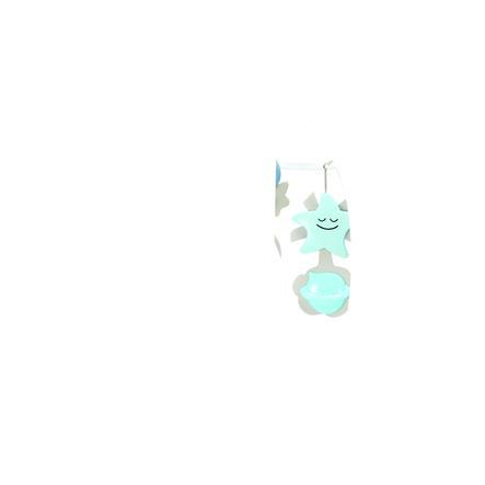 B kids® 3 in 1 Babymobil med nattlampa, blå