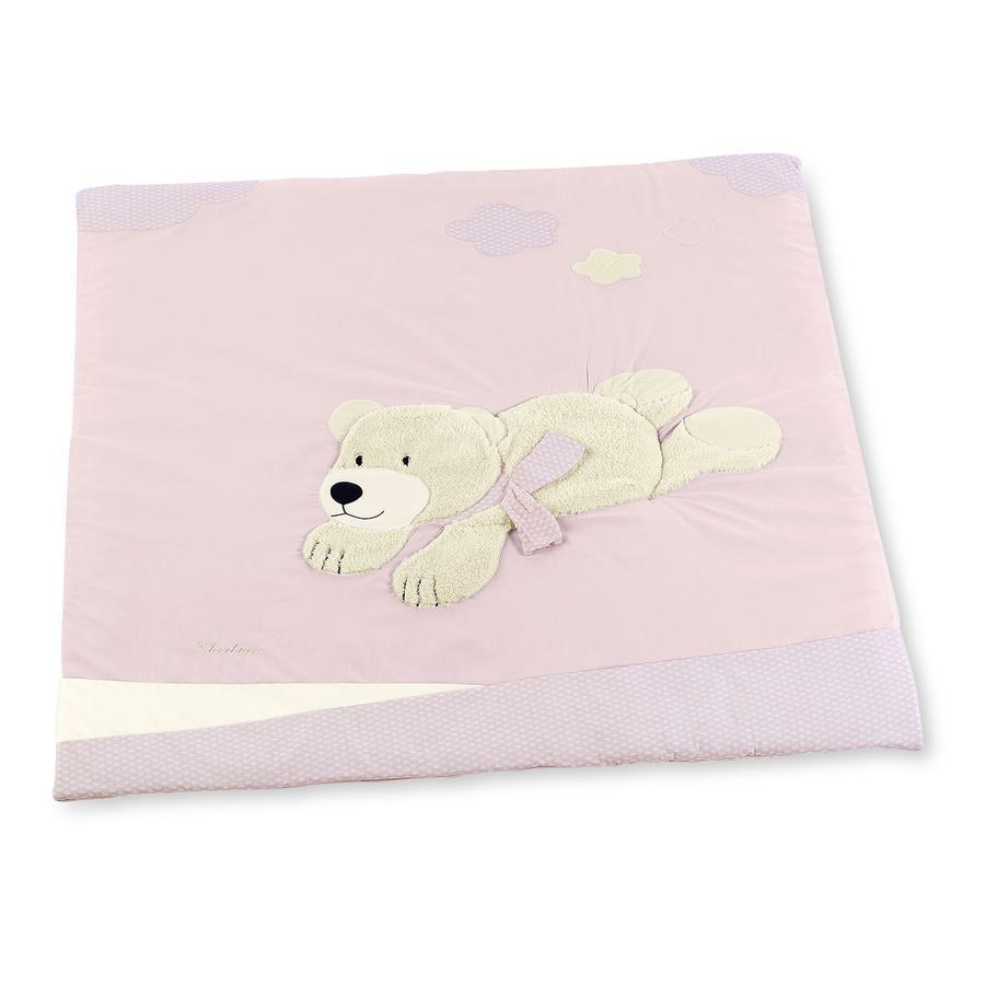 Sterntaler Krabbeldecke Ella rosa 100 x 100 cm