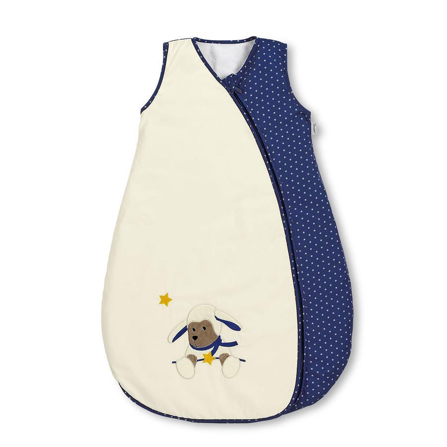 Sterntaler Saco de dormir de verano Stanley beige/azul