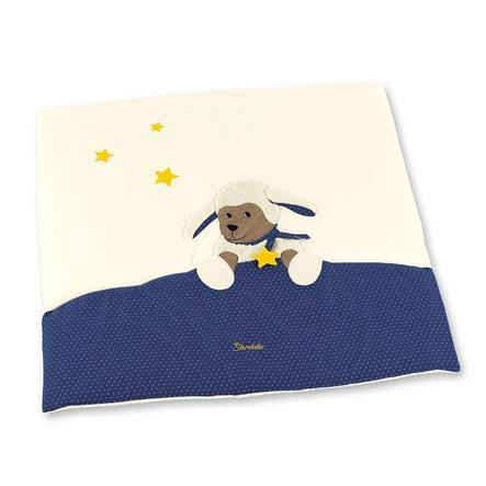 Sterntaler Hrací deka Stanley ecru/tmavě modrá