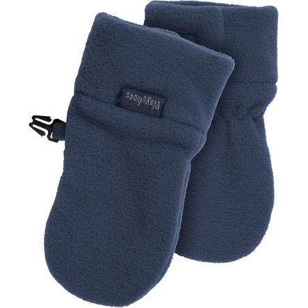 Playshoes fleece baby palčáky navy