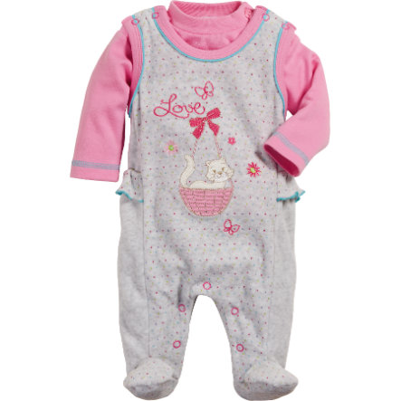 Playshoes Strampler-Set Nicki Love
